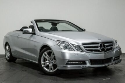 2012 Mercedes-Benz E250 A207 MY12 BlueEFFICIENCY 7G-Tronic + Elegance 7 Speed Sports Automatic