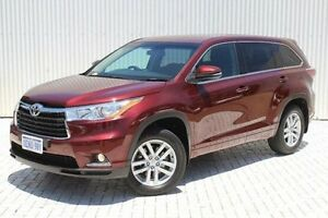 2014 Toyota Kluger GSU50R GX 2WD Red 6 Speed Sports Automatic Wagon Embleton Bayswater Area Preview