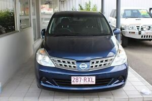 2011 Nissan Tiida C11 S3 ST Blue 4 Speed Automatic Sedan Westcourt Cairns City Preview