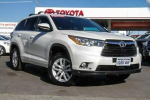 2016 Toyota Kluger GSU50R GX 2WD Crystal Pearl 6 Speed Sports Automatic Wagon Osborne Park Stirling Area Preview