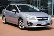 2012 Subaru Impreza G4 MY12 2.0i-L Lineartronic AWD Silver 6 Speed Constant Variable Sedan Osborne Park Stirling Area Preview