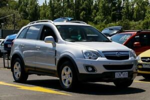 2011 Holden Captiva CG Series II 5 Silver 6 Speed Sports Automatic Wagon Ringwood East Maroondah Area Preview