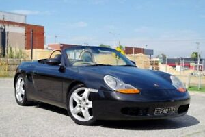 1997 Porsche Boxster 986 Black 5 Speed Manual Convertible Myaree Melville Area Preview
