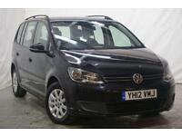 2012 Volkswagen Touran 1.6 S TDI BLUEMOTION TECHNOLOGY 5d 103 BHP Diesel black M