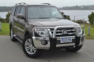 2014 Mitsubishi Pajero NW MY14 VR-X Iron Bark 5 Speed Sports Automatic Wagon Claremont Nedlands Area Preview
