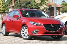 2016 Mazda 3 BM MY15 SP25 GT Soul Red 6 Speed Automatic Sedan Gymea Sutherland Area Preview