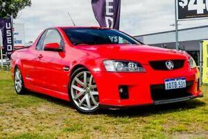 2009 Holden Ute VE MY09.5 SS V Red 6 Speed Manual Utility