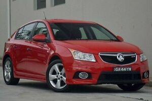 2012 Holden Cruze JH Series II MY12 SRi Red 6 Speed Manual Hatchback Thornleigh Hornsby Area Preview