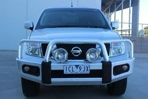 2014 Nissan Navara D40 S7 ST Silver 5 Speed Sports Automatic Utility Berwick Casey Area Preview