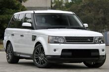 2010 Land Rover Range Rover MY10 Sport 3.0 TDV6 White 6 Speed Automatic Wagon Burwood Burwood Area Preview