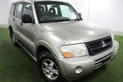 2004 Mitsubishi Pajero NP MY04 GLS Gold 5 Speed Sports Automatic Wagon Moonah Glenorchy Area Preview