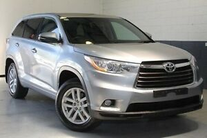 2015 Toyota Kluger GSU50R GX 2WD Silver 6 Speed Sports Automatic Wagon Nailsworth Prospect Area Preview