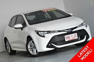2018 Toyota Corolla Mzea12R Ascent Sport White 10 Speed Constant Variable Hatchback Kedron Brisbane North East Preview