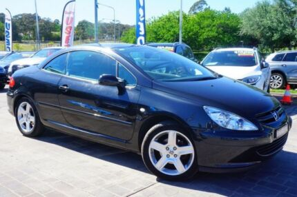 2005 Peugeot 307 T6 CC Dynamic Black 5 Speed Manual Cabriolet Pearce Woden Valley Preview
