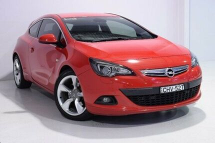 2012 Opel Astra AS GTC Sport Red 6 Speed Manual Hatchback Wadalba Wyong Area Preview