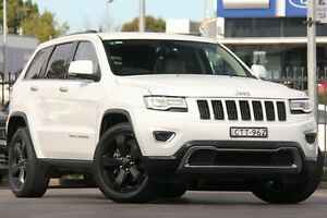 2014 Jeep Grand Cherokee WK MY2014 Limited White 8 Speed Sports Automatic Wagon Penrith Penrith Area Preview