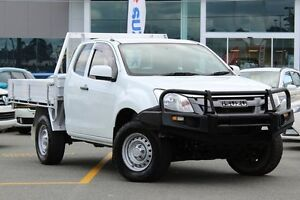 2013 Isuzu D-MAX MY12 SX Space Cab White 5 Speed Manual Cab Chassis Wavell Heights Brisbane North East Preview