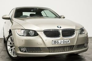 2008 BMW 335i E93 MY08 Steptronic Bronze 6 Speed Sports Automatic Convertible Rozelle Leichhardt Area Preview