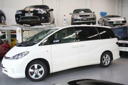 2005 Toyota Tarago ACR30R MY03 GLX White 4 Speed Automatic Wagon Beckenham Gosnells Area Preview