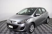 2013 Mazda 2 DE10Y2 MY13 Neo Silver 4 Speed Automatic Hatchback Edwardstown Marion Area Preview