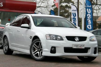 2011 Holden Commodore VE II SV6 White 6 Speed Automatic Sedan Waitara Hornsby Area Preview