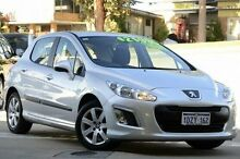 2012 Peugeot 308 T7 MY12 Access Grey 4 Speed Sports Automatic Hatchback Myaree Melville Area Preview