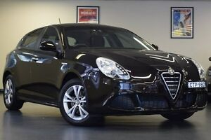 2014 Alfa Romeo Giulietta Series 1 Progression TCT Black 6 Speed Sports Automatic Dual Clutch Chatswood Willoughby Area Preview