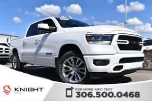 2019 Ram 1500 Sport | Sunroof | Remote Start | Power Seats |