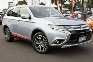 2016 Mitsubishi Outlander ZK MY16 XLS 4WD Silver 6 Speed Sports Automatic Wagon Nunawading Whitehorse Area Preview