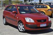 2006 Kia Rio JB MY06 Sports Red 4 Speed Automatic Hatchback Wangara Wanneroo Area Preview