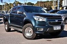 2012 Holden Colorado RG MY13 LTZ Crew Cab Blue 5 Speed Manual Utility Myaree Melville Area Preview