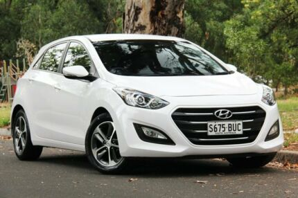 2015 Hyundai i30 GD3 Series II MY16 Active X White 6 Speed Sports Automatic Hatchback Hawthorn Mitcham Area Preview