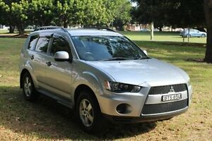 2011 Mitsubishi Outlander ZH MY12 LS Silver 6 Speed Constant Variable Wagon Hamilton East Newcastle Area Preview