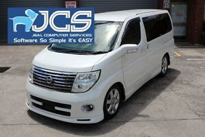 2006 Nissan Elgrand E51 White Automatic Wagon Bayswater Knox Area Preview
