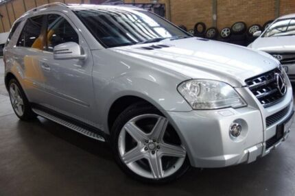 2011 Mercedes-Benz ML350 CDI W164 MY11 AMG Sports Silver 7 Speed Sports Automatic Wagon Port Melbourne Port Phillip Preview