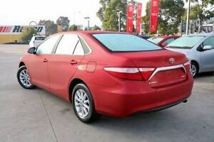 2015 Toyota Camry Red Sports Automatic Sedan Blackburn Whitehorse Area Preview