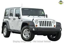 2016 Jeep Wrangler Unlimited JK MY16 Renegade Sport (4x4) Bright White 5 Speed Automatic Hardtop Zetland Inner Sydney Preview