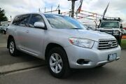 2007 Toyota Kluger GSU45R KX-R (4x4) 7 Seat Silver 5 Speed Automatic Wagon Brooklyn Brimbank Area Preview