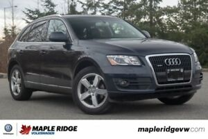 2012 Audi Q5 3.2L Premium NO ACCIDENTS, BC CAR, FULLY LOADED!