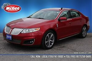 2010 LINCOLN MKS 3.5L Twin-turbo, 6-speed Auto, Dual Roof, NAV