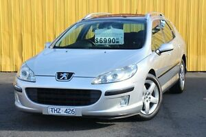 2004 Peugeot 407 ST Touring Executive Silver 4 Speed Sports Automatic Wagon Heatherton Kingston Area Preview
