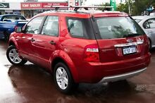 2007 Ford Territory SY Ghia Orange 4 Speed Sports Automatic Wagon Cannington Canning Area Preview
