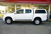 2012 Holden Colorado RG MY13 LX Crew Cab 4x2 White 6 Speed Sports Automatic Utility Somerton Park Holdfast Bay Preview