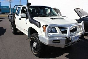 2010 Holden Colorado RC MY10 LX Crew Cab White 5 Speed Manual Cab Chassis Devonport Devonport Area Preview