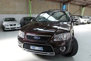 2009 Ford Territory SY Mkii Ghia Burgundy Sports Automatic Wagon Knoxfield Knox Area Preview