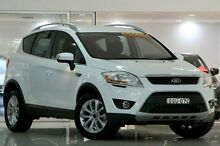 2012 Ford Kuga TE Trend AWD White 5 Speed Sports Automatic Wagon Waitara Hornsby Area Preview