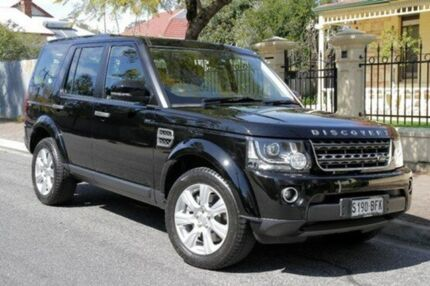 2014 Land Rover Discovery 4  Black Auto Seq Sportshift Wagon Eastwood Burnside Area Preview