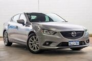 2014 Mazda 6 SPORT SKYACTIV-DRIVE GJ1032 Silver Sports Automatic Sedan Cannington Canning Area Preview