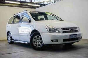 2008 Kia Grand Carnival VQ Platinum White 5 Speed Sports Automatic Wagon Osborne Park Stirling Area Preview