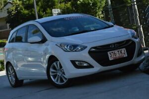 2013 Hyundai i30 GD Active Tourer White 6 Speed Sports Automatic Wagon Indooroopilly Brisbane South West Preview